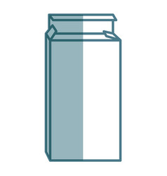Medical pills box isolated icon vector