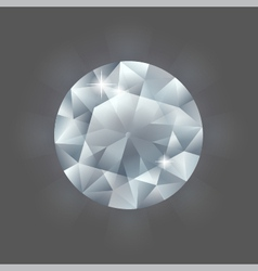 Round diamond vector