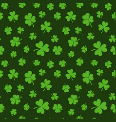 St patricks day seamless pattern or vector