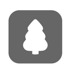 fir-tree icon fir-tree logo flat design vector image