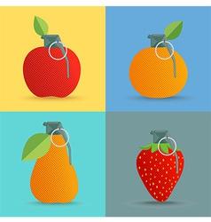 Fruitbom vector