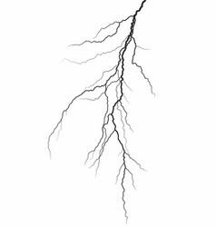 A lightning stroke vector