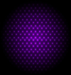 Abstract global with purple dots background vector