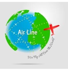 Air line vector