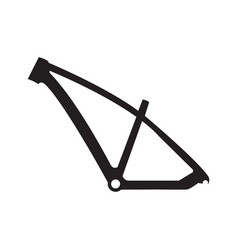 bike frame icon vector image