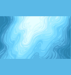 blue underwater background vector image