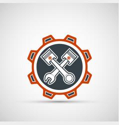 Car service and mechanic repair logo vector