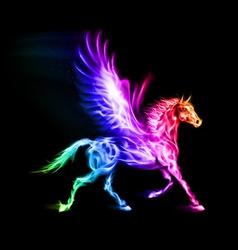 Fair Pegas Horse Run Spectr vector