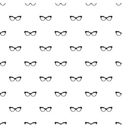 Man spectacles pattern seamless vector
