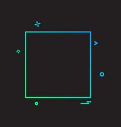 media button icon design vector image