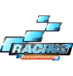 Race championship vector