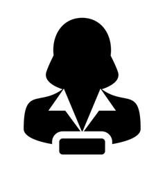 Remove profile icon female user person profile vector