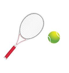 Tennis Ball and Racket vector
