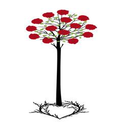 Tree of heart 2 vector