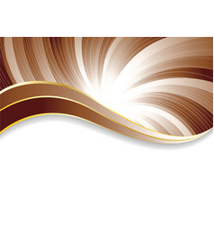vector abstract chocolate background vector image