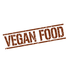 Vegan food stamp vector