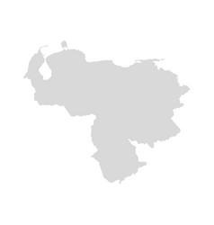 venezuela map shape venezuela vector image