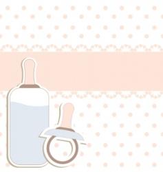 baby design elements vector image vector image