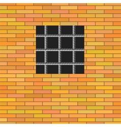 Prison Window vector image