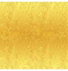 Seamless golden background vector image
