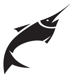 Sword fish icon vector image vector image