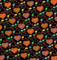 heart panel design vector image vector image