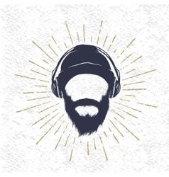 symbol of music fun vector image