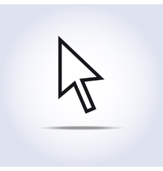 arrow cursor vector image