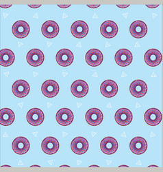 Doughnut wallpaper vector