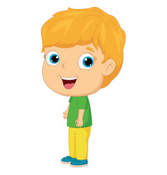 of a kid vector image