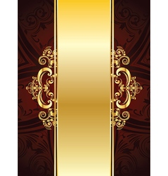 Red decorative background vector