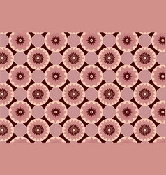 Red seamless abstract floral vintage texture vector