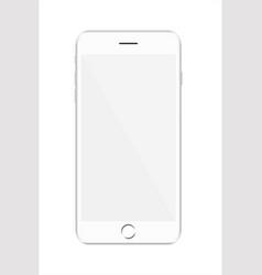 new version of white modern vector image