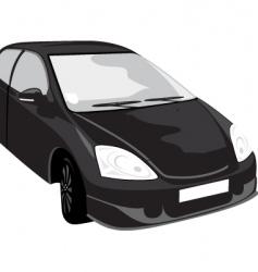 black car vector image vector image