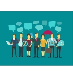 Business group people company teamwork vector image