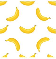 seamless pattern of bananas vector image