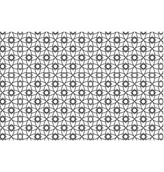 black and white abstract seamless geometric vector image