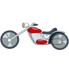 Cartoon motorcycle vector