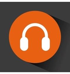 Headphone audio device vector