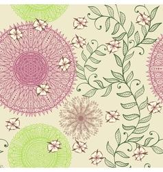 Seamless elegant soft pastel pattern vector image