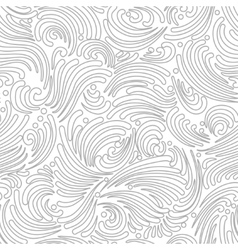 Seamless silver background vector image