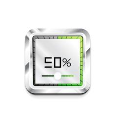 Preloader icon vector image