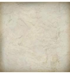 Vintage crumpled old paper textured background vector