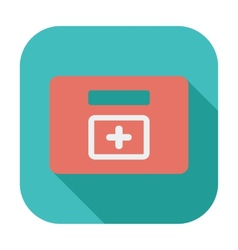 First aid kits icon vector image vector image