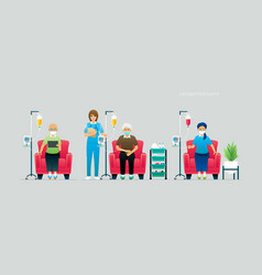 chemotherapy vector image