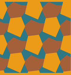 color seamless pattern geometric background eps10 vector image