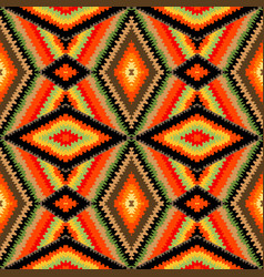 colorful kaleidoscope pattern vector image