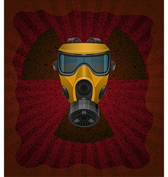 gas mask concept 02 vector image
