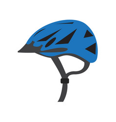 helmet bike icon vector image