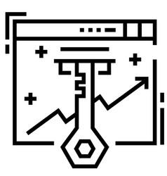 Keyword line vector